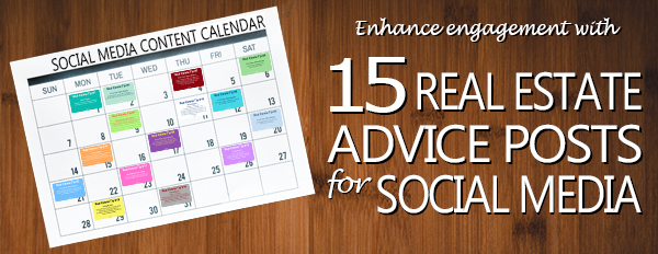 15 Real Estate Advice Posts for Social Media - Email Banner